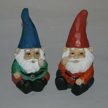 "Miniature Fairy Garden Gnomes Pair 5"" Tall - £7.09 GBP"