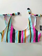 Hula Honey Aqua Bikini Top Size Medium image 1