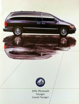 1996 Plymouth GRAND VOYAGER sales brochure catalog US 96 SE Rallye - $6.00
