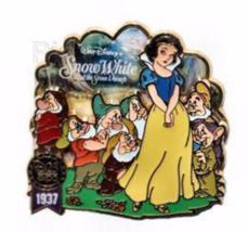 Disney Pin 72481 D23 Expo 2009 Artist Choice 1937 Snow White Seven Dwarfs LE * - $56.38