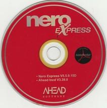nero Express V5.5.9.15D & Adead Incd V3.39.0 Software - $11.88