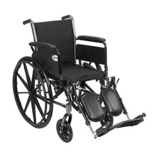 Drive Medical Cruiser III Light With Full Arms Leg Rests - $184.15