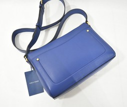 NWT Cole Haan Esme Leather Crossbody/Shoulder Bag in Navy Peony - $139.00