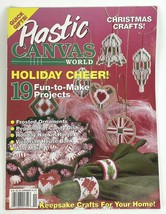 Plastic Canvas World Magazine Volume 1 Issue 6 November 1992 - $3.95