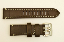Genuine Luminox watch band Strap1800 Field Auto  BROWN Leather 23/22mm 1801 - $69.95
