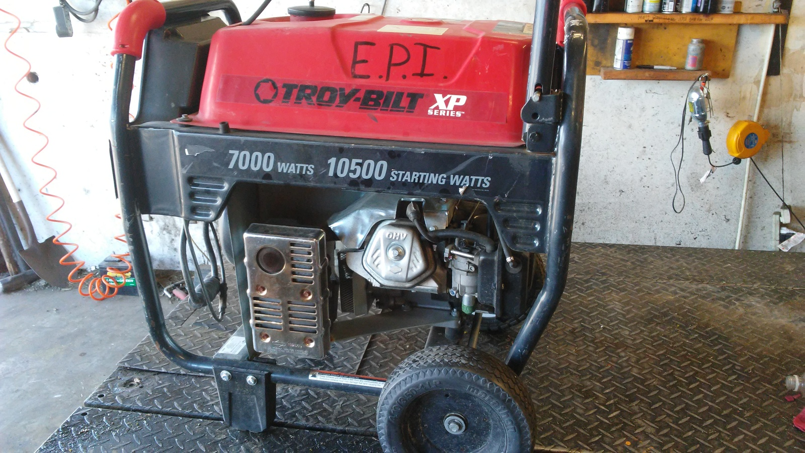 Troy Bilt Model 030477 Generator XP Series Carburetor