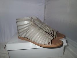 Steve Madden Women's Kaster Gladiator Sandal, Gray, 8.5 M US - $22.23