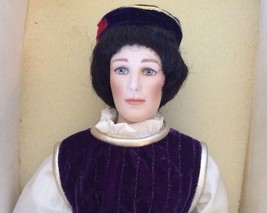 Romeo Franklin Heirloom Doll Porcelain Limited Edition Stand From Romeo ... - $96.03