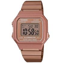 Casio B650WC-5ADF Retro Digital Square Watch - Rose Gold - $55.94