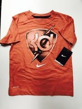 NIKE BOYS KEVIN DURANT TSHIRTS 4-7 YEARS (7 YEARS, ORANGE) - $19.59