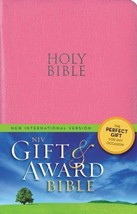 Leather Look Gift & Award Bible Red Letter Edit... - $13.41