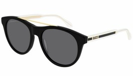 Gucci Design Sunglasses GG0559S 001 Black Crystal/Grey Lens 54mm Authentic - $183.33
