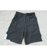Xersion Quick-Dri Youth boys athletic shorts, size S(8), black, pre-owned - $3.96