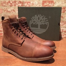 Timberland Men's Cobleton SIDE-ZIP Brown Boots Style A13J9 Size :13 - $134.79