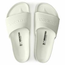 Birkenstock Womens Barbados Eva White Narrow Casual Flat Fashion Sandals 1015399 - $79.99