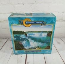 "Artist Series Eduardo Camoes Niagara Falls 1000 Piece Puzzle 20"" X 26"" (Sealed) - $13.18"