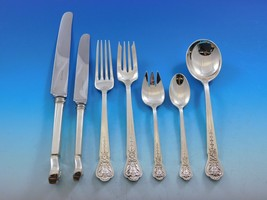 A.J. Fuller Tiffany and Co Sterling Silver Flatware Set Figural Custom P... - $15,750.00