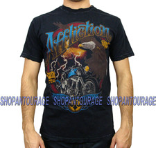 AFFLICTION Black Hills A8607 Men`s New T-shirt Black - $39.95
