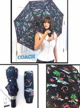 COACH Hawaiian Hula Girl Umbrella Automatic Retractable NWT $85.00 - $59.39