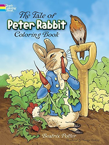 The Tale of Peter Rabbit Coloring Book (Dover Classic Stories Coloring Book) ...