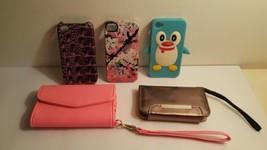 Lot of Five Unique iPhone 4 Cases - $9.89