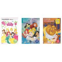 Princess Beauty & The Beast FujiFilm Instax Mini Film Polaroid 30 Instan... - $34.49
