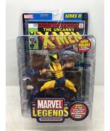 Marvel Legends Wolverine Action Figure Series III (3) - Toy Biz 2002 FS - $28.98