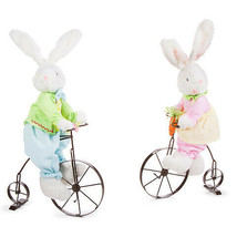 Darice Easter Bike-Riding Bunny: Fabric, 5.51 x 21.26 inches, 2 Assorted... - $39.99