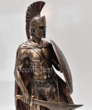 Leonidas with Sword & Shield Big Beautiful Bronze 300 Spartans * Free Sh... - $98.01