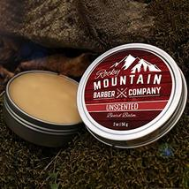 Beard Balm - Classic Unscented - 100% Natural - Premium Wax Blend with Nutrient  image 2
