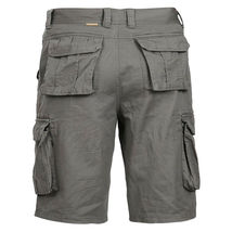 Men's Cotton Multi Utility Pockets Relaxed Fit Casual Outdoor Army Cargo Shorts image 12