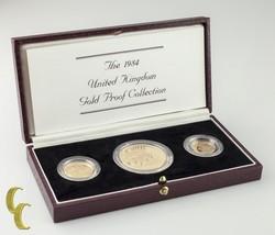 1984 Regno Unito Royal Mint Oro con Prova Collezione W/Box e Coa - $2,836.89