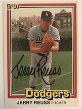 Jerry Reuss Signed Autographed 1981 Donruss Baseball Card - Los Angeles ... - $5.93