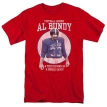 Married with Children Al Bundy Football legend Polk High graphic tee SONYT133 image 1