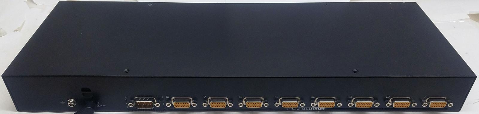 ATENMaster View Max PS2/USB Combo KVM Switch CS1308 Bin:13