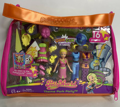 Polly Pocket Polly World Theme Park Party Quik Clik Fashions NEW in ours... - $41.14