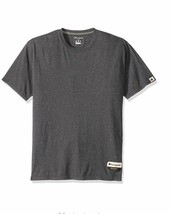Champion Mens Authentic Originals Soft Wash Short Sleeve Tee Heather Gray Medium - $11.97