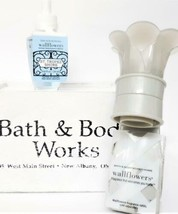 Bath and Body Works St. Tropez Shore Bulb & Gray Wallflower Iron Gate Co... - $16.92