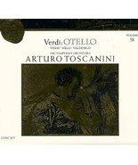 Verdi: Otello [Audio CD] Giuseppe Verdi; Arturo Toscanini; NBC Synphony ... - $23.99