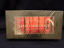 CHOCOHOLIC'S STRIP CHOCOLATE A GAME OF SENSUAL PLEASURE - NEW SEALED - $24.95