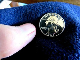 GEM PROOF MIRRORS 90% SILVER  WASHINGTON QUARTERS CHOOSE 1961 1962 1963 ... - $5.90