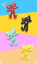 Cute Cat Car Mobile Phone Holder Flexible Soft Silicone Air Vent Mount U... - $8.88