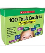 100 Task Cards in a Box:  Text Evidence - $34.99