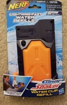 Nerf Super Soaker Water Clip Refill 10fl OZ For Thunderstorm Squirt Toy Gun - $5.45