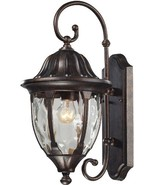 Elk 45003/1 9 by 18-Inch Glendale 1-Light Outdoor Wall Sconce with Water... - $133.67