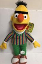 Sesame Street Bert Plush Doll Nanco 2003 Vintage Unibrow Yellow - $18.69