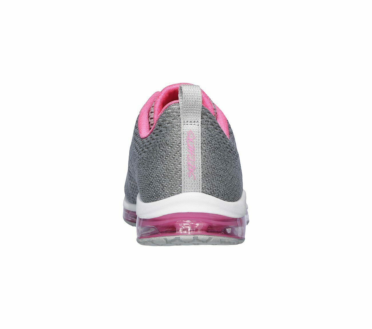 Skechers Shoes Women Gray Pink Memory Foam Sport Air Cushion Mesh Comfort 12644 image 6