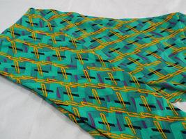 Womens LuLaRoe TC Tall and Curvy Leggings Green Orange Purple Black New image 3