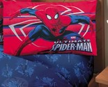 NEW Boys MARVEL SPIDER MAN ULTIMATE RED BLUE SHEET SET Size Twin Full SPIDERMAN