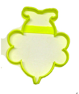 Bee Outline Bumblebee Flying Insect Pollen Honey Cookie Cutter USA PR3363 - $1.99